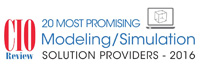 20 Most Promising Modeling/ Simulation Solution Providers 2016